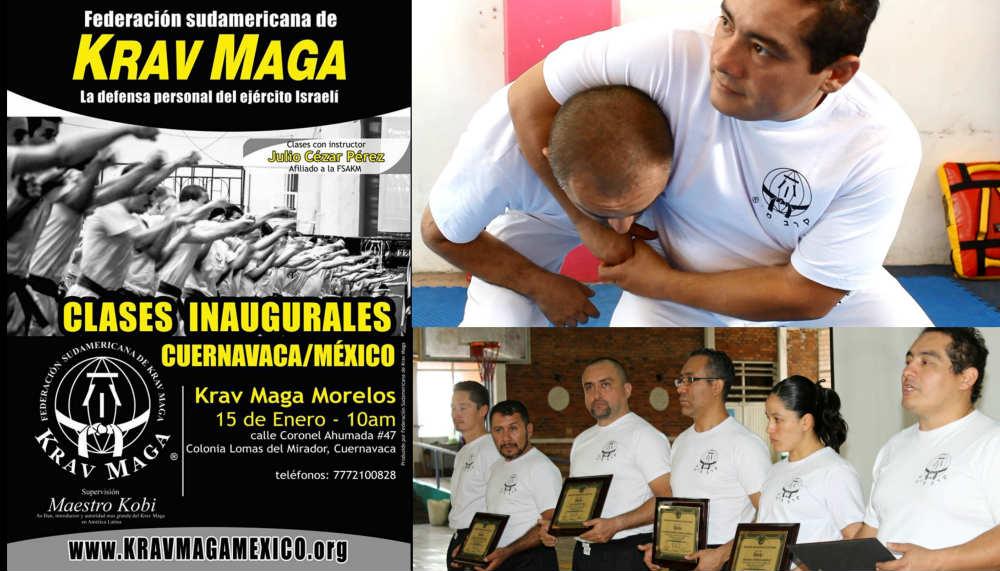 Este fin de semana, la Federación Sudamericana de Krav Maga-México (FSAKM-México) arrancará sus actividades de manera oficial, a través de su 1ª Clase Inaugural en su Centro de Enseñanza de Cuernavaca, Morelos.