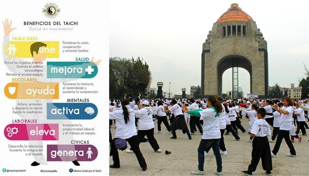 A poco más de quince días de que llegue la fecha para la Magna Clase de Taichí en el Monumento a la Revolución, más practicantes de México y de otras siete naciones del mundo, han manifestado su apoyo para esta magna sesión programada para el 23 de abril, cuya página de registró ya se encuentra habilitada.
