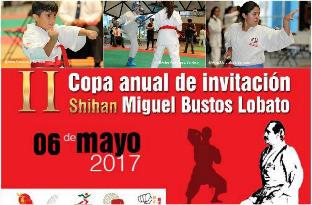 Todo se encuentra listo para que este sábado se realice el torneo in memoriam a uno de los fundadores de los pilares del karate, kendo y otras disciplinas japonesas en México, a través de la II Copa Anual de Invitación Shihan Miguel Bustos Lobato.