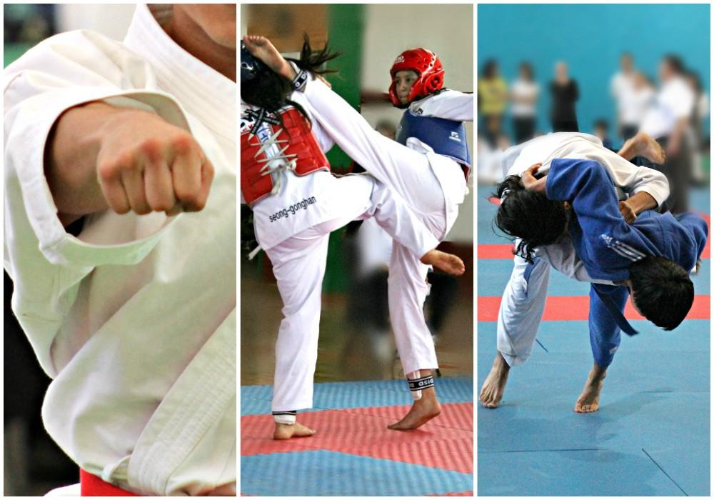 Practicantes de karate, taekwondo y judo en todo México alistan sus uniformes para acudir a los máximos eventos deportivos del país: Olimpiada Nacional y Nacional Juvenil 2017.