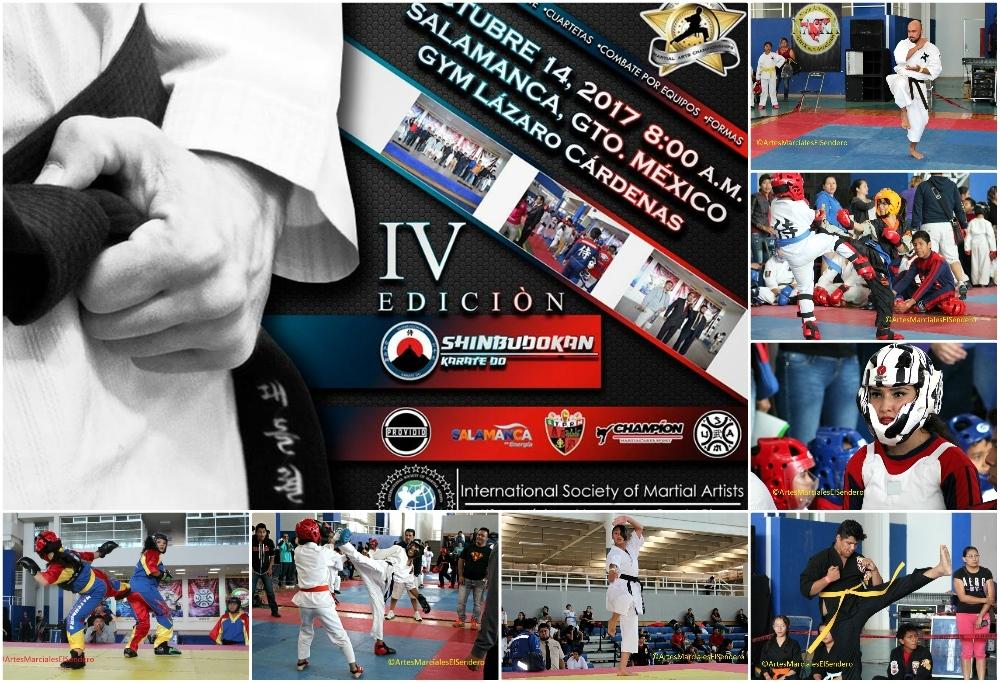 El IV Campeonato de Artes Marciales 'Gold Star' 2017 ya tiene poster oficial, fecha y lugar para llevarse a cabo en Salamanca, Guanajuato, donde se busca fomentar la práctica de las diferentes disciplinas marciales entre la población de esta región petrolera e industrial.