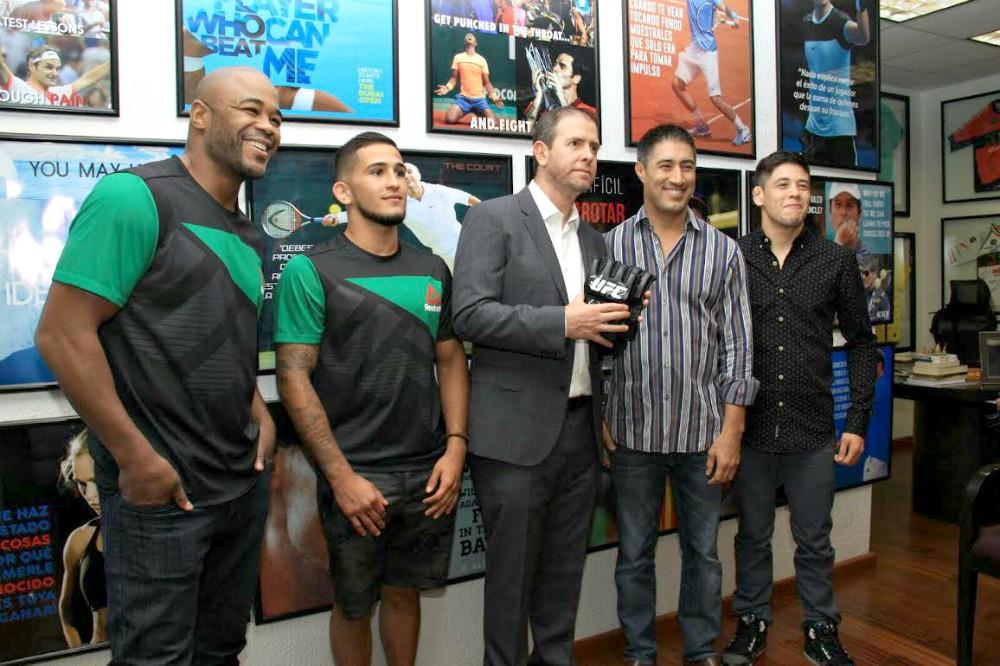 Las instalaciones del Centro Nacional de Alto Rendimiento (CNAR) serán espacio para un campamento de entrenamiento para Brandon Moreno y Sergio Pettis, peleadores de Artes Marciales Mixtas (MMA, por sus siglas en inglés), a fin de que se preparen para su contienda de UFC.