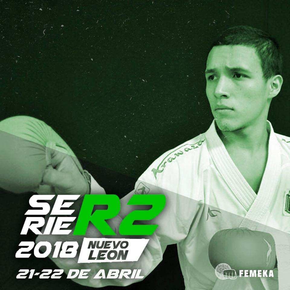 La ciudad General Escobedo, Nuevo León, será la sede de arranque de la Segunda Serie Regional 2018 del Campeonato Serie R2 de la Federación Mexicana de Karate y Artes Marciales Afines, A.C. (FEMEKA), donde los competidores podrán sumar puntos para el ranking 2018.