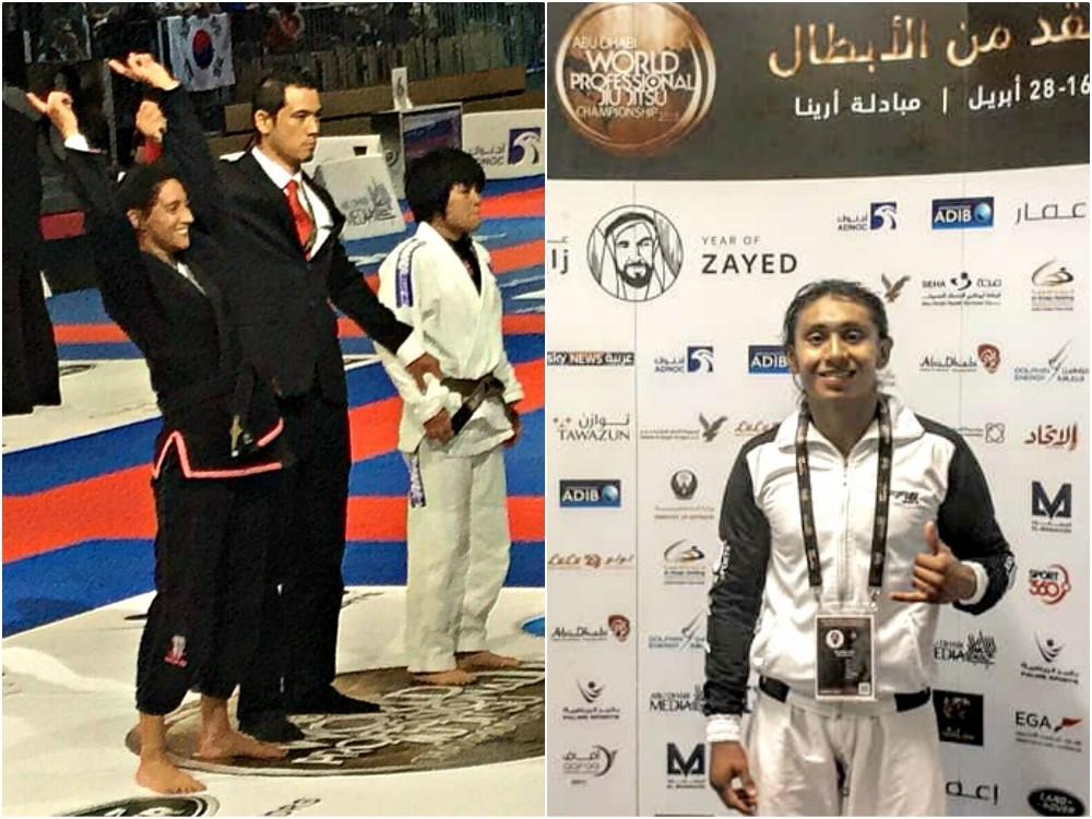 Cerca de las medallas del 10° Abu Dhabi World Profesional Jiu Jitsu Championship 2018, quedaron los mexicanos Itzel Bazúa y Orlando Yeh, quienes con ello demostraron el gran avance del arte marcial en el país.