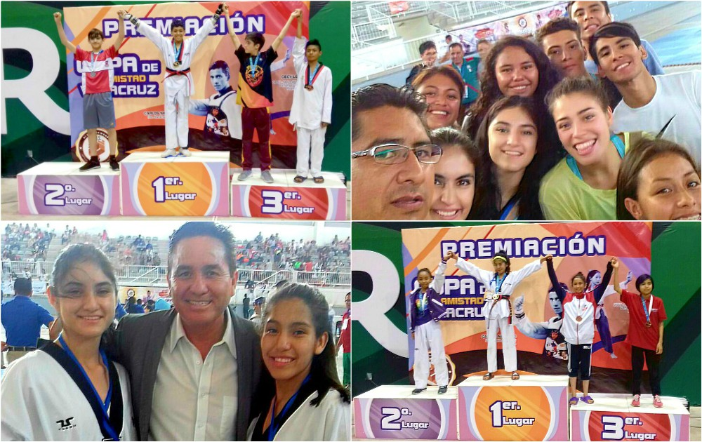 La selección de taekwondo de la Ciudad de México (CDMX), superó las expectativas en número de participantes y medallas obtenidas en la Copa Amistad Veracruz 2018, uno de los torneos importantes del año, debido a que los atletas obtuvieron puntos para el ranking nacional.