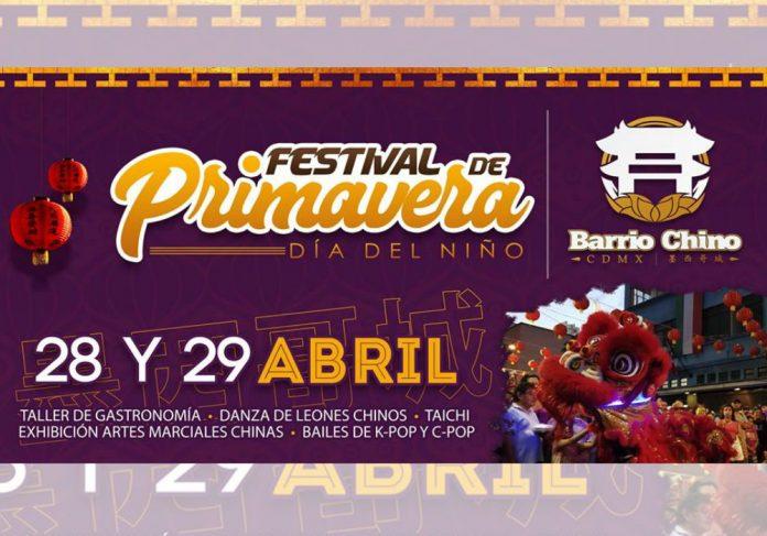 El Barrio Chino de la Ciudad de México se prepara para una gran celebración con motivo del Festival de Primavera 2018, donde las artes marciales estarán presentes con exhibición y clase gratuita de taichí, además de diferentes actividades culturales.