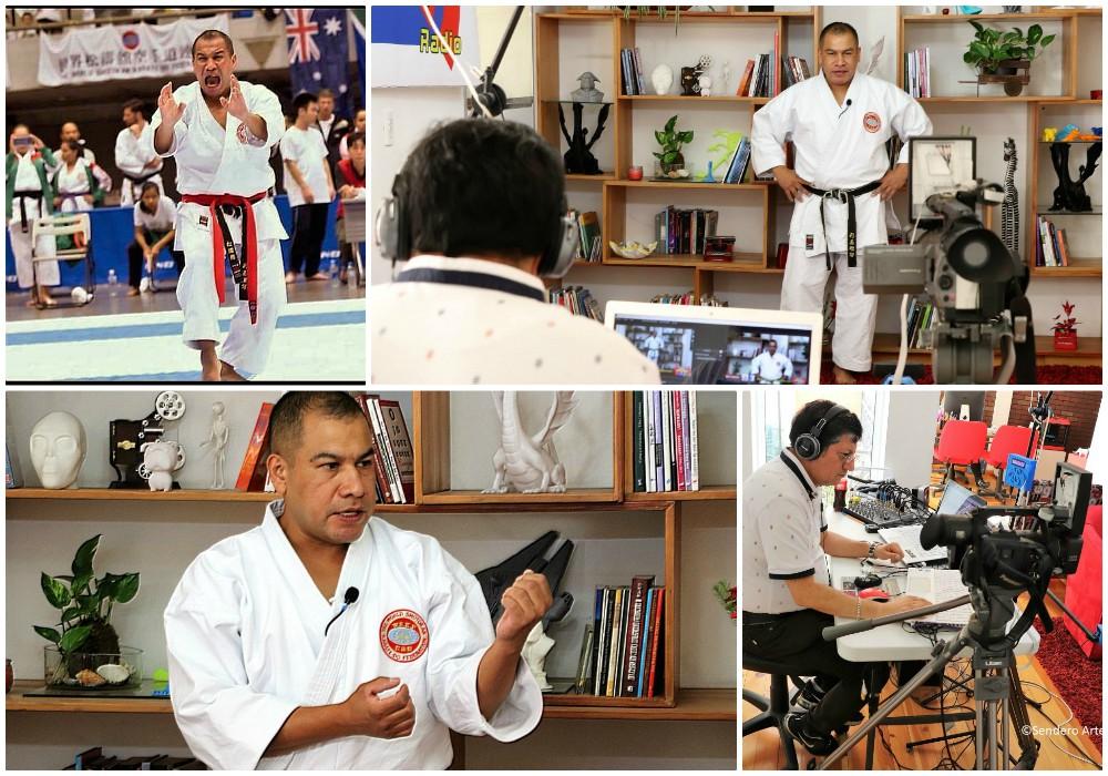"""""""Karate Do para Todos"""", con Ricardo 'Mata' González Guerrero, un programa de radio para los amantes e interesados en el Camino de la Mano Vacía."""