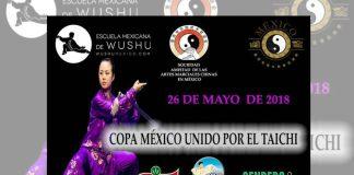 Parque Naucalli de Naucalpan, Estado de México, será sede de la Primera Copa México Unido por el Taichí, con lo cual se continúa con las acciones para promover esta disciplina marcial para la salud física y mental.