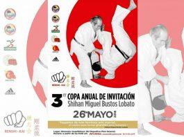 Kata y kumite de karate-do, así como una demostración de Iaido, el arte para desenvainar la katana o el 'Camino para la Armonía del Ser', podrán disfrutar asistentes a la 3er Copa Anual de Invitación Shihan Miguel Bustos Lobato.
