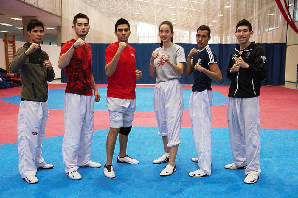 Integrantes del equipo nacional acudirán al Grand Prix de Taekwondo Roma 2018, primer torneo de su tipo en el año donde se competirá con los nuevos cambios al reglamento. (Foto: CONADE).