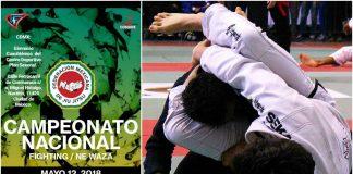 Todo listo para Campeonato Nacional Fighting/Ne Waza de Jiujitsu 2018, este sábado 12 de mayo.