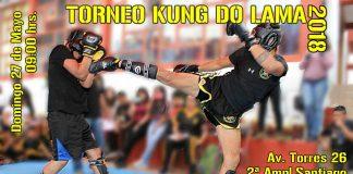 Torneo de Kung Do lama 2018, donde los practicantes pondrán en practica lo presentado en su pasado examen.
