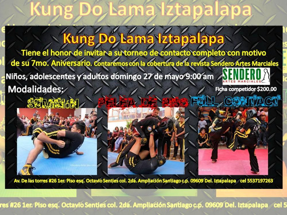 Torneo Kung Do Lama Iztapalapa, evento para celebrar aniversario, preparación a competencias e integración.