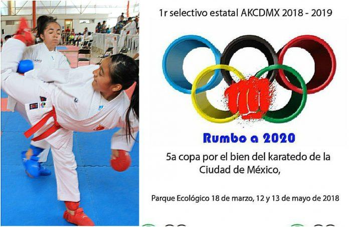 La Copa Por el Bien del Karatedo de la Ciudad de México (CDMX), el cual será un torneo abierto a todos los practicantes del arte marcial y parte del proceso para conformar la selección de la capitalina.