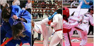 El judo, karate y taekwondo serán parte de la Olimpiada nacional y Nacional Juvenil 2018.