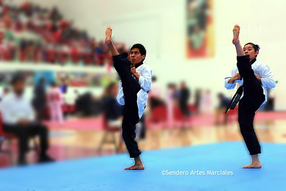 La especialidad de taekwondo poomsae pares mixtos quedó fuera de XXIII Juegos Deportivos Centroamericanos y del Caribe Barranquilla 2018 (Barranquilla2018).