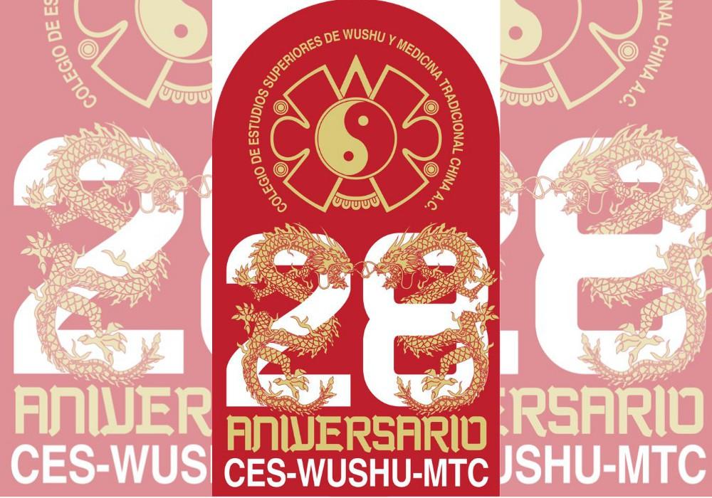 Celebración del 28 aniversario de la escuela Jipdo–CES Wushu.