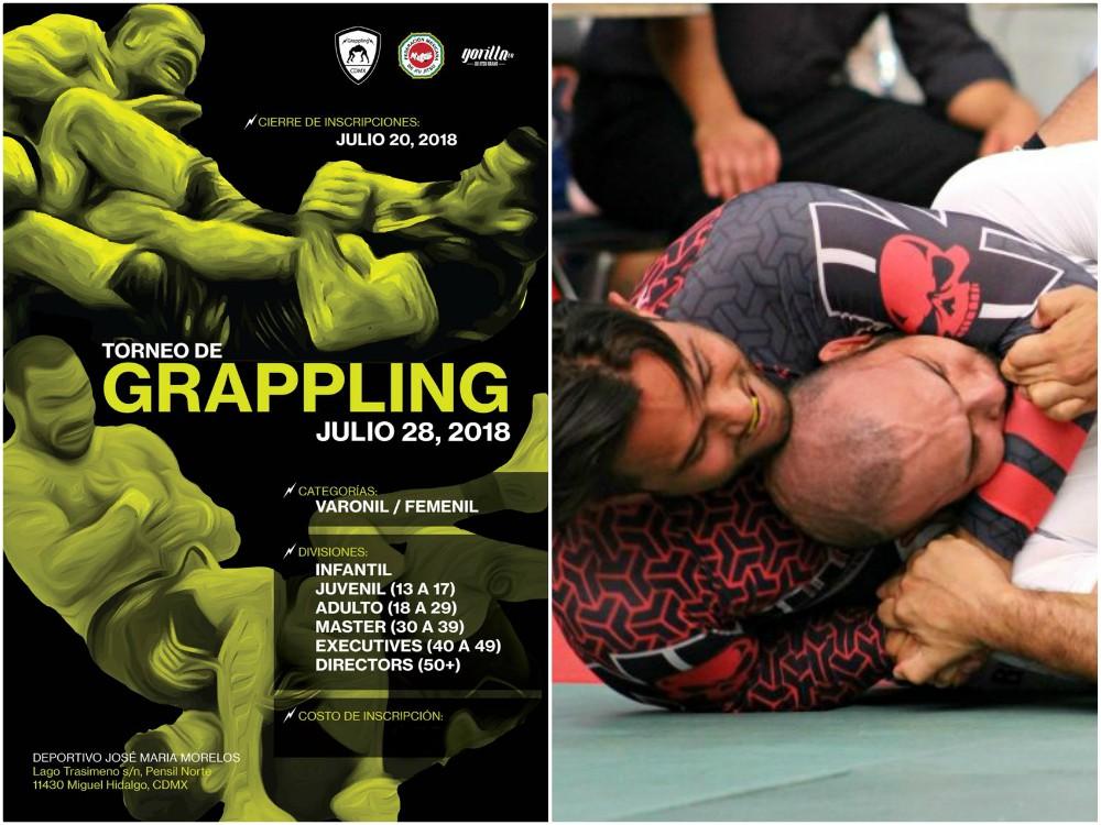 El 3er Abierto de Grappling CDMX 2018 ha despertado gran interés entre practicantes de jiujitsu, judo, sambo, luta livre y otros estilos marciales