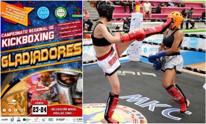 Campeonato Regional 'Gladiadores 2018' de la FENAKIB será clasificatorio para 10º Campeonato Panamericano de Kickboxing WAKO 2018.