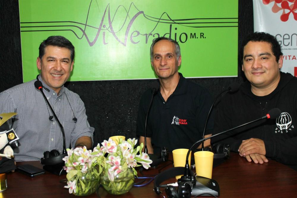 Recién llegado de Brasil a la Ciudad de México para encabezar el Congreso Internacional de la Federación Sudamericana de Krav Maga, el Gran Maestro (GM) Kobi Lichtenstein acudió a entrevista en 'Espíritu Samuari' de Vive Radio.
