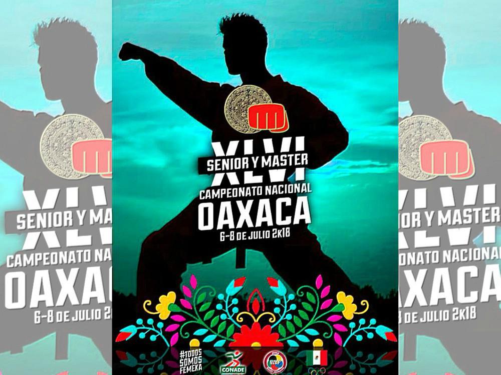 La capital de Oaxaca se prepara para recibir a cientos de practicantes de karate do que serán parte del Campeonato Nacional Senior y Master 2018.