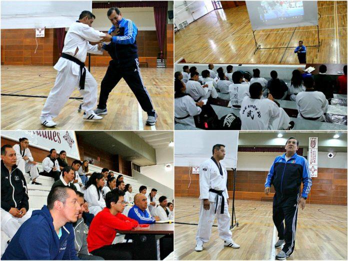 A fin de lograr que entrenadores, profesores cuenten con mayores elementos para mejorar en las competencias de sus atletas, fue el objetivo del Taller de Arbitraje y Reglamento de Formas y Combate que ofreció la Asociación Capitalina de Taekwondo.
