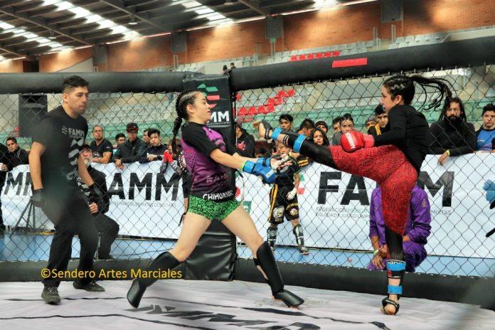 Nuevamente las emociones de los combates en jaula llegarán a Sala de Armas de la Magdalena Mixihuca de la CDMX.