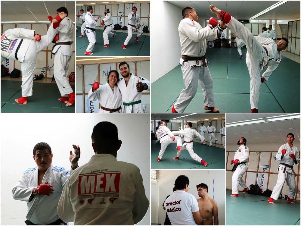 Con la mira puesta en los próximos campeonatos internacionales, integrantes dela Selección Mexicana de Jiujitsu Fighting realizaron su segunda concentración para corregir errores, mejorar aciertos y elevar su nivel.