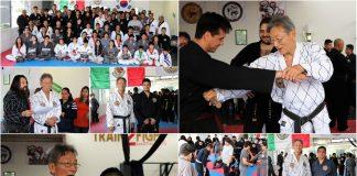 Intensas jornadas de entrenamiento se vivieron en el Seminario de Hapkido con GM Hank Shik Shin.