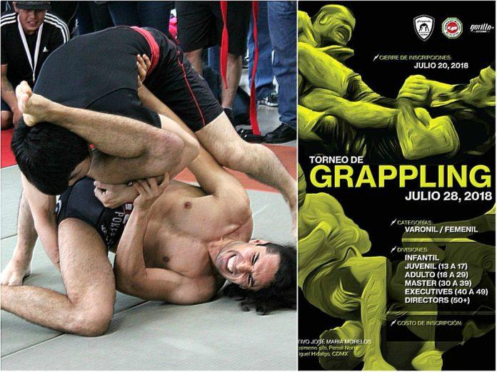 Este lunes es el último día para que practicantes de artes marciales que utilizan técnicas de sumisión para vencer a su rival, concluyan su inscripción al 3er Abierto de Grappling CDMX.