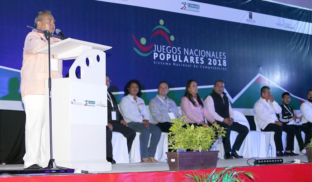 Con la presencia de practicantes de artes marciales (wushu), fue inaugurada la décimo primera edición de los Juegos Nacionales Populares (JNP) Morelos 2018.