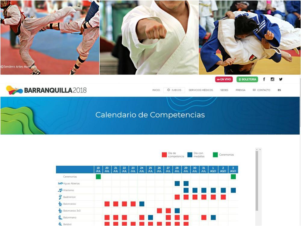 La fecha anunciada llegó, y los XXIII Juegos Centroamericanos y del Caribe Barranquilla, Colombia 2018 (JCC Barranquilla 2018).
