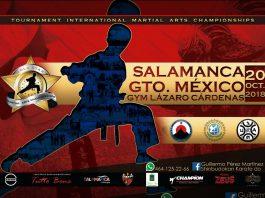 A paso seguro y firme, continúa la organización del V Campeonato de Artes Marciales 'Gold Star' 2018, en Salamanca, Guanajuato.