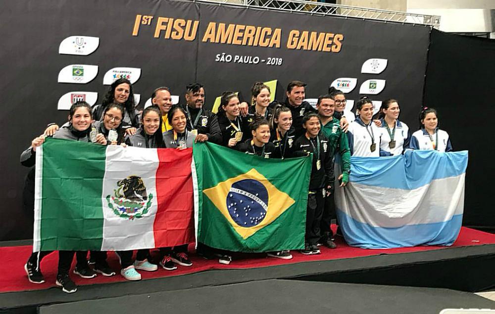 Una destacada participación tuvieron los integrantes de la Selección Mexicana de Judo que participaron en la primera edición de los Juegos Panamericanos Universitarios FISU Brasil 2018.