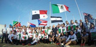 A un día de iniciar los Juegos Centroamericanos y del Caribe, Barranquilla 2018, la Bandera de México fue izada y ya ondea en territorio colombiano, donde habrán de competir representantes de taekwondo, karate y judo tricolor.