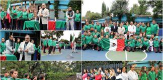 Con la encomienda de llevar el águila y la serpiente del escudo nacional con orgullo y honor para demostrar el nivel de aprendizaje y nivel de karate en México, se llevó a cabo el abanderamiento del equipo tricolor que acudirá al Campeonato Panamericano ISKF Panamá 2018.