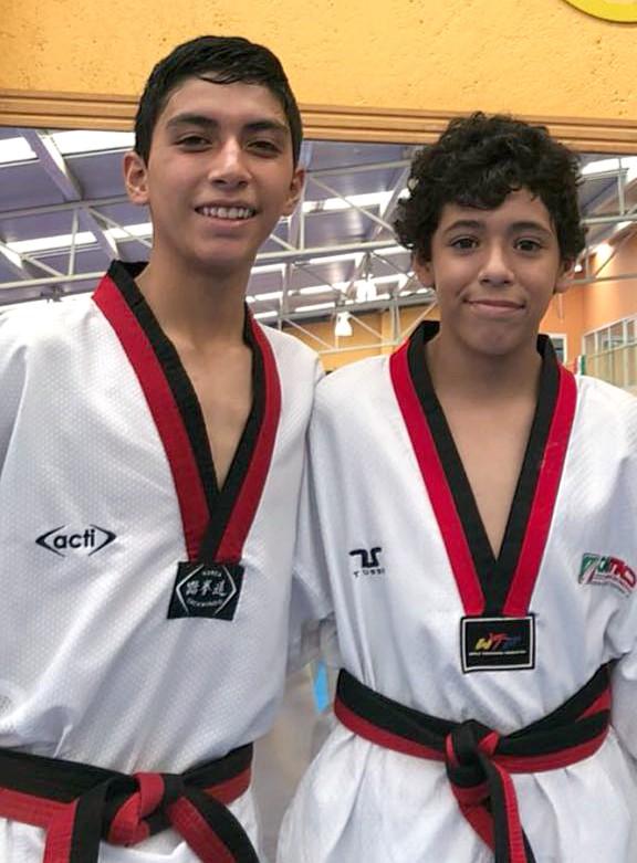 Antony Gómez y David Millán.