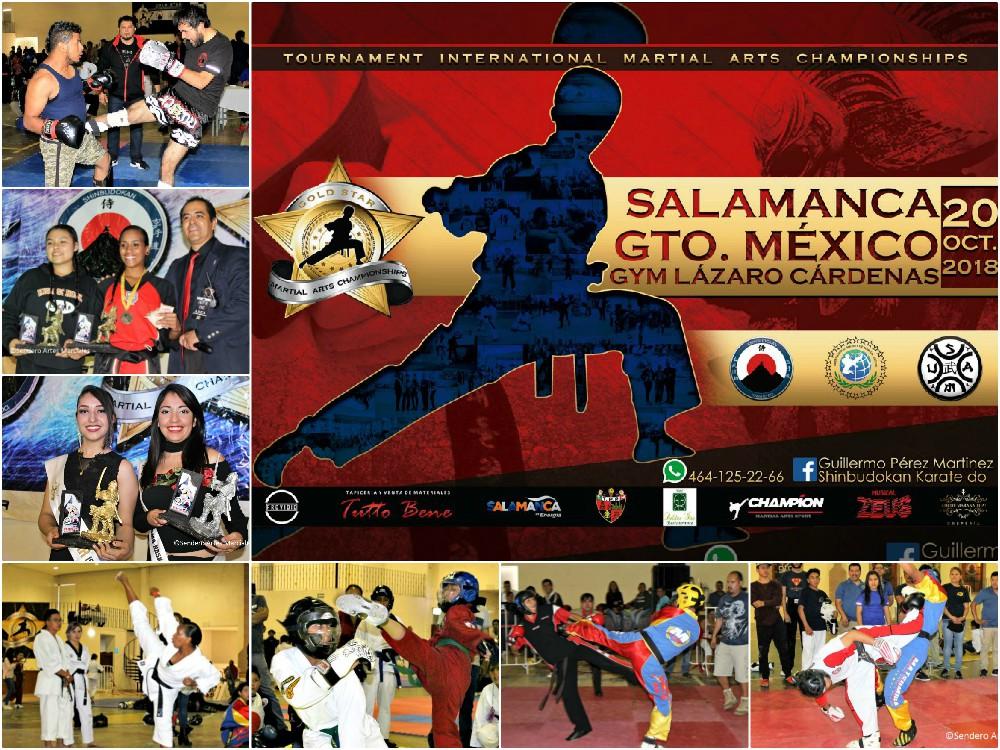 El próximo V Campeonato de Artes Marciales 'Gold Star' Salamanca 2018, en Guanajuato, cobra mayor interés gracias a que se amplían los premios en efectivo