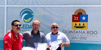 Niños judocas en Quintana Roo podrán continuar con su práctica con uniformes nuevos, gracias a la donación de judogis que realizó la Federación Internacional de Judo.