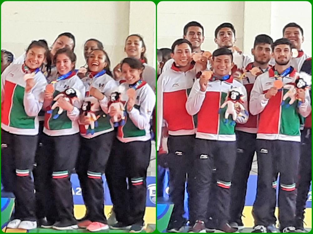 La Selección Mexicana de Judo logró ganar otro par de medallas en la modalidad de equipos femenil y varonil, con lo cual logró reunir un total de 10 preseas en Barranquilla 2018.