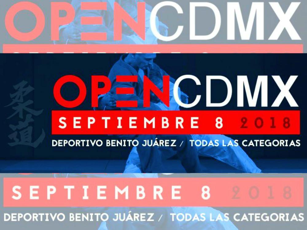 """El gimnasio del Centro Deportivo """"Benito Juárez"""" será sede del primer Open CDMX de judo, el cual será organizado por la nueva Asociación de Judokas de la Ciudad de México, A.C. (Judo CDMX)."""