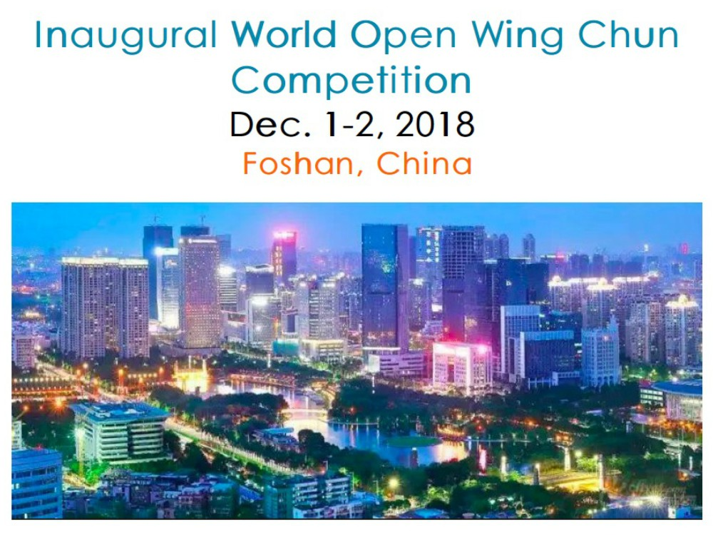El Wing Chun será parte de las competencias mundiales de la Federación Internacional de Wushu (IWUF, por sus siglas en inglés).
