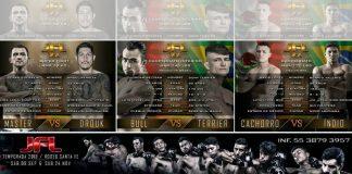La emoción de las peleas en jaulas hará cimbrar el Rodeo Santa Fe el próximo septiembre, con la presentación de peleas de la liga profesional JFL MMA.