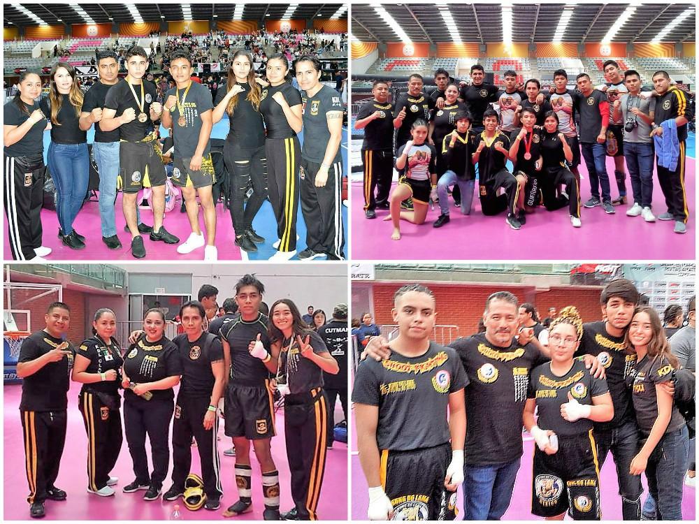 Buena cosecha de medallas lograron los integrantes de la organización Kung Do Lama que asistieron al pasado 2º Campeonato Nacional de Artes Marciales Mixtas Amateur CDMX.