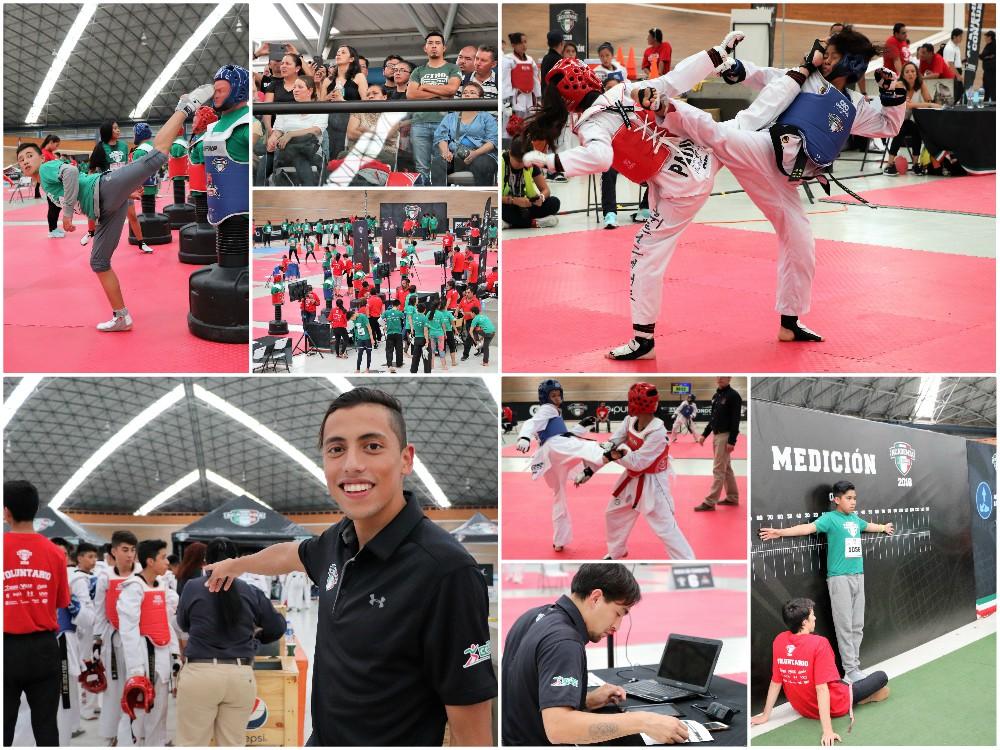 México se prepara para tener a los mejores exponentes de taekwondo a través de la Academia CONADE, que se encuentra a la mitad del proceso para detectar talentos que se convertirán en los próximos campeones mundiales del arte marcial.