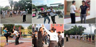 A dos semanas de haber iniciado las clases gratuitas de defensa personal impartidas por instructores de la Federación Sudamericana de Krav Maga, continua el interés por ser parte de estas sesiones para que una persona se sienta segura de caminar en las calles.