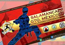El V Campeonato de Artes Marciales 'Gold Star' Salamanca 2018, en Guanajuato, prepara más sorpresas para el 20 de octubre, ya que además de trofeos y medallas a ganadores y premios en efectivo a campeones absolutos, se entregarán placas especiales a profesores.