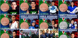 Excelente desempeño logró tener los representantes de la Selección Mexicana que acudió al World Kickboxing Championships Cadetes & Junior WAKO 2018.
