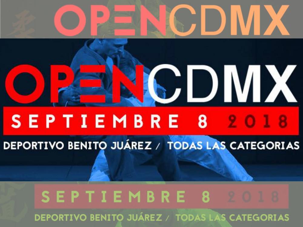 Una serie de sorpresas y buenas noticias para el judo de la Ciudad de México (CDMX), serán parte del próximo Open CDMX.