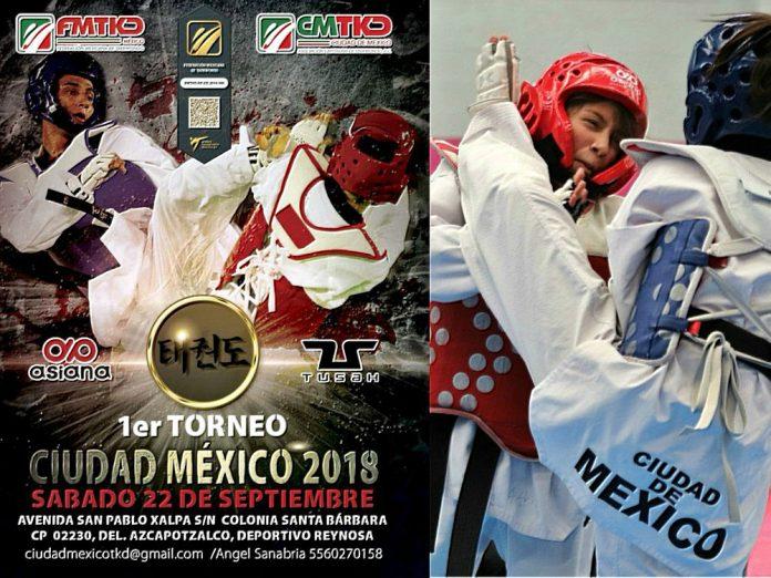 Practicantes de las escuelas formativas de taekwondo de la zona centro del país se alistan para acudir al 1er Torneo Ciudad de México 2018.